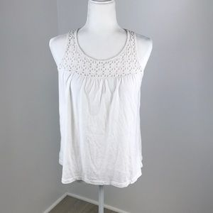 Old Navy White Tank Top Size M